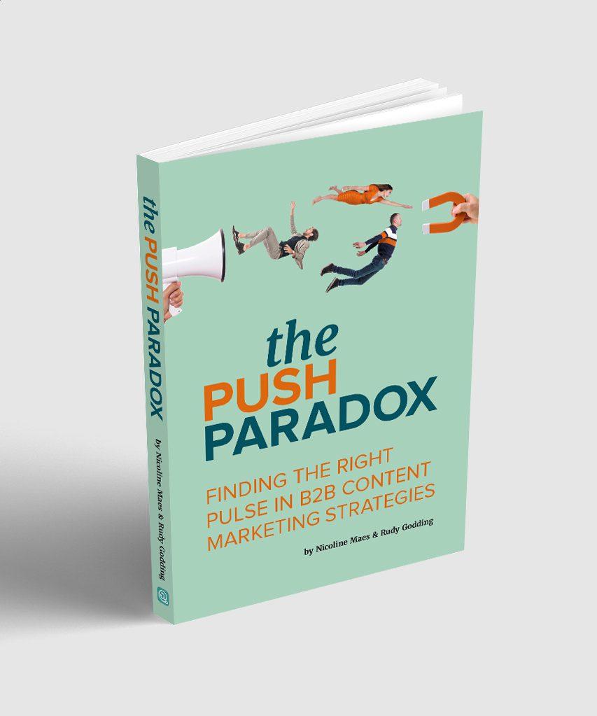 The PushParadox, B2B content marketing book