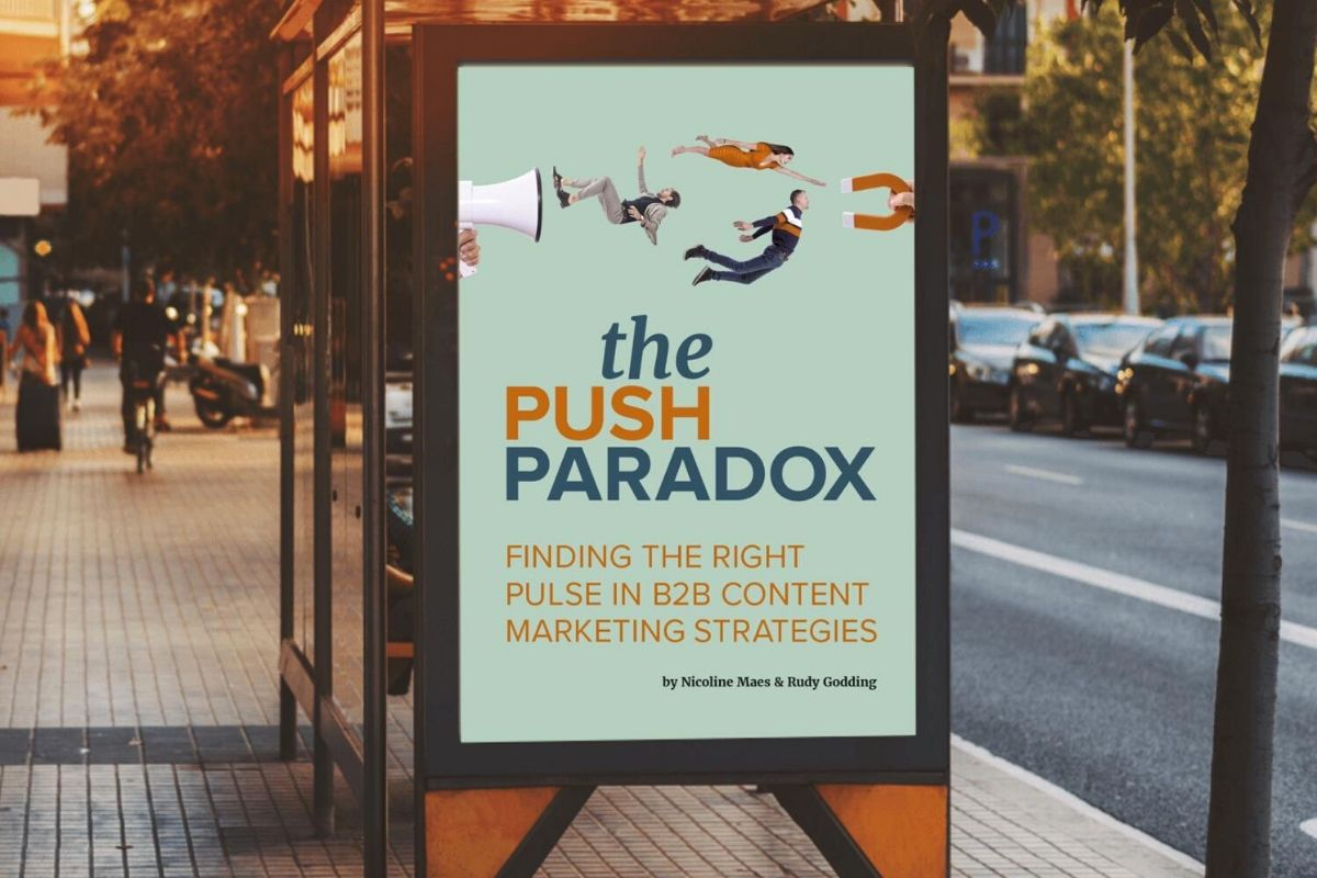 Bestselling B2B marketing  the Push Paradox